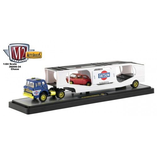 M2 Machines Auto-Haulers Release 34 - 1957 Mack Model N CHASE VERSION