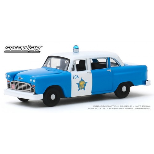 Greenlight Hot Pursuit Series 34 - 1961 Checker Marathon Police Car Chicago