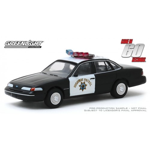 Greenlight Hollywood Series 27 - 1992 Ford Crown Victoria Police Interceptor