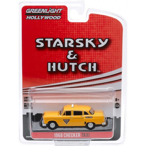 Greenlight Hollywood Starsky and Hutch Edition - 1968 Checker Taxi