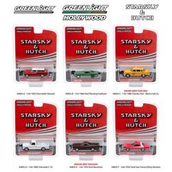 Greenlight Hollywood Starsky and Hutch Edition - Six Car Set