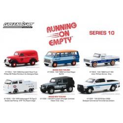 Greenlight Running On Empty Series 10 - Six Car Set