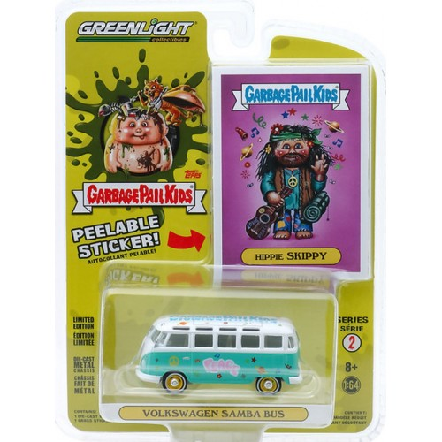 Greenlight Garbage Pail Kids Series 2 - 1964 Volkswagen Samba Bus