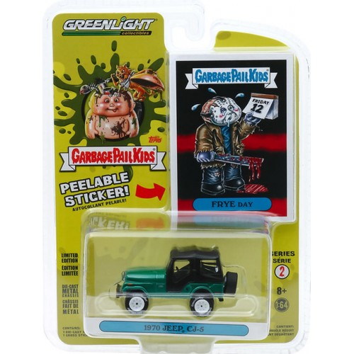 Greenlight Garbage Pail Kids Series 2 - 1970 Jeep CJ-5