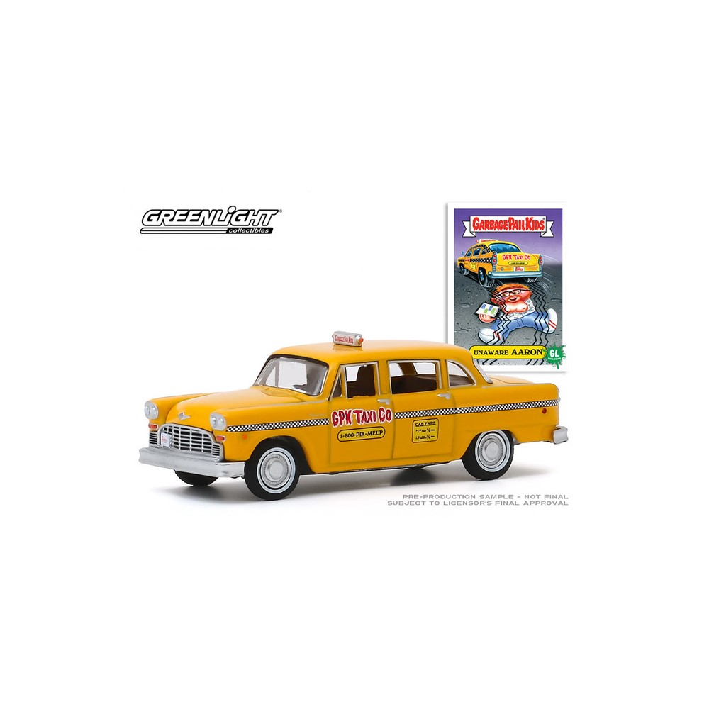 Greenlight Garbage Pail Kids Series 2 - 1970 Checker Motors Marathon Taxi