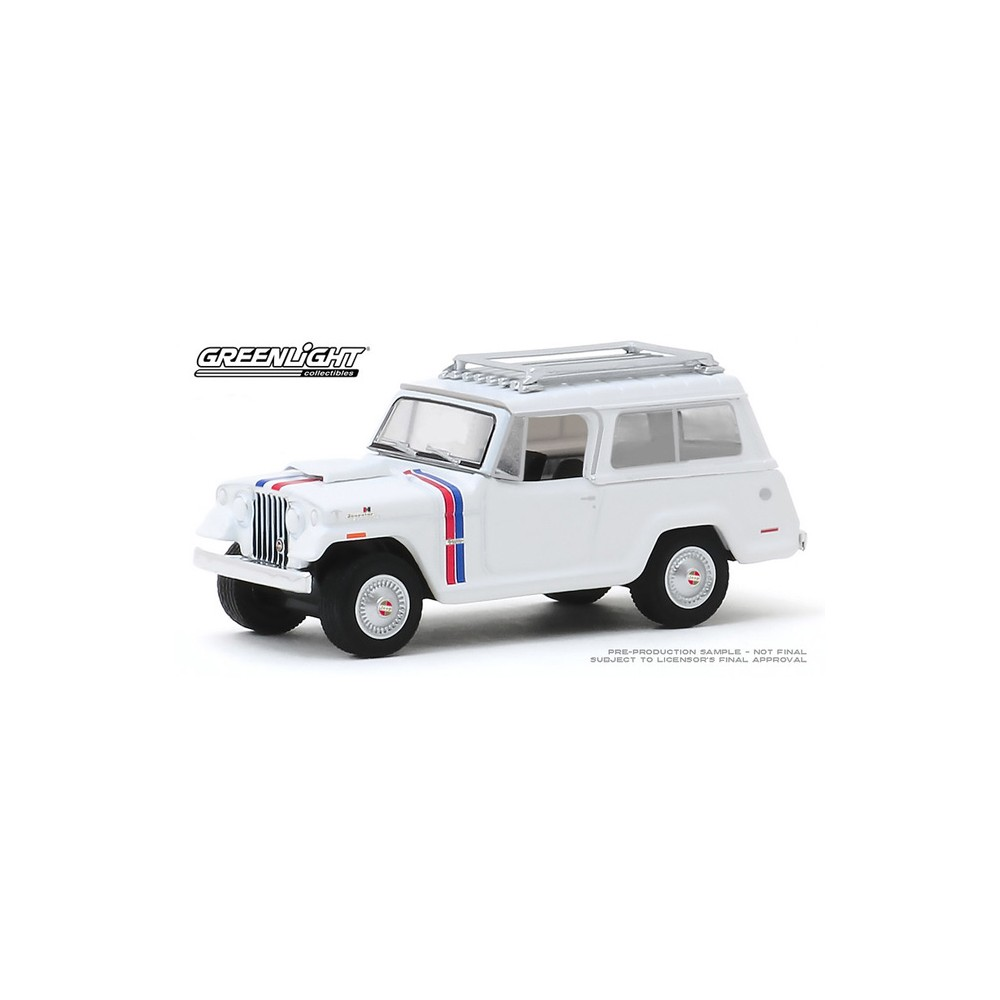 Greenlight Hobby Exclusive - 1971 Jeep Jeepster Commando Hurst Edition