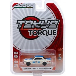 Greenlight Tokyo Torque Series 7 - 1971 Nissan Skyline 2000 GT-R