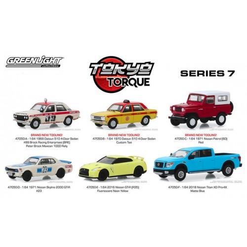 Greenlight Tokyo Torque Series 7 - Six Car Set