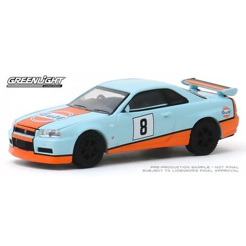Greenlight Tokyo Torque Series 8 - 2001 Nissan Skyline GT-R