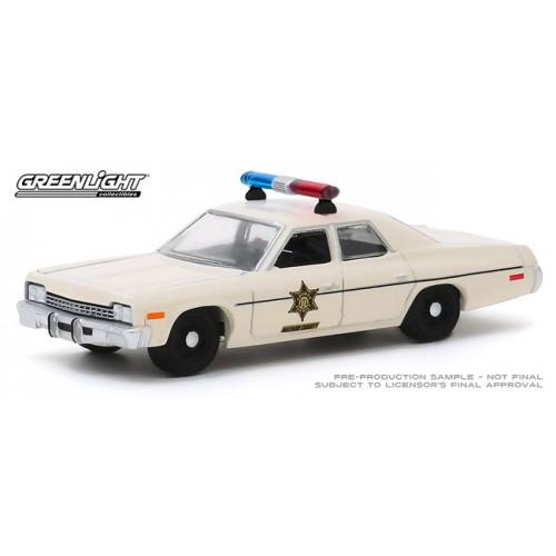 Greenlight Hobby Exclusive - 1975 Dodge Monaco Hazzard County Sheriff