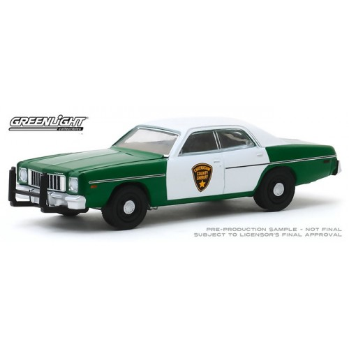 Greenlight Hobby Exclusive - 1975 Plymouth Fury Chickasaw County Sheriff