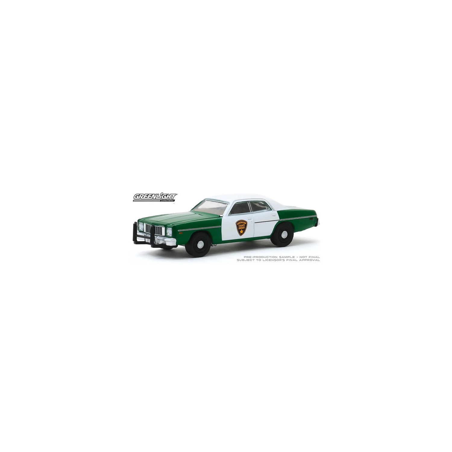 1975 Plymouth Fury Chickasaw County Sheriff Police ** Greenlight Hobby 1:64