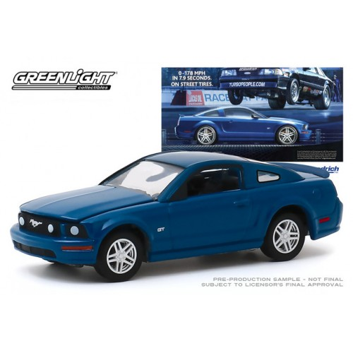 Greenlight Hobby Exclusive BF Goodrich Vintage Ad Cars - 2009 Ford Mustang GT