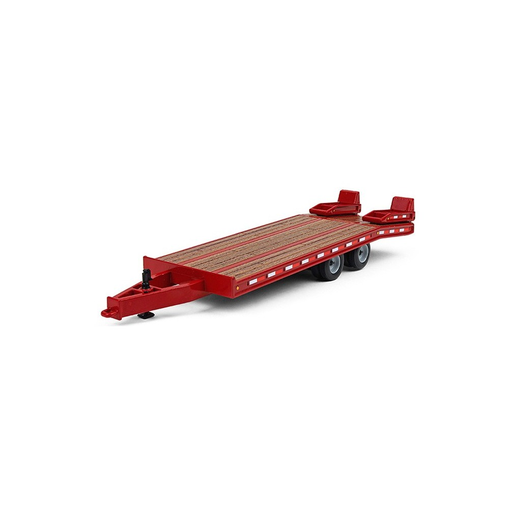Beavertail Trailer in Red