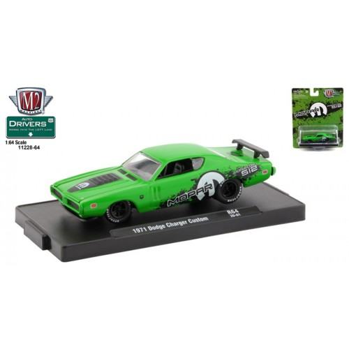 M2 Machines Drivers Release 64 - 1971 Dodge Charger Custom