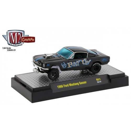 M2 Machines Gassers Release 51 - 1966 Ford Mustang Pony Up
