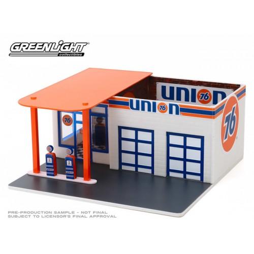 Greenlight Mechanics Corners Series 6 - Vintage Gas Station Union 76