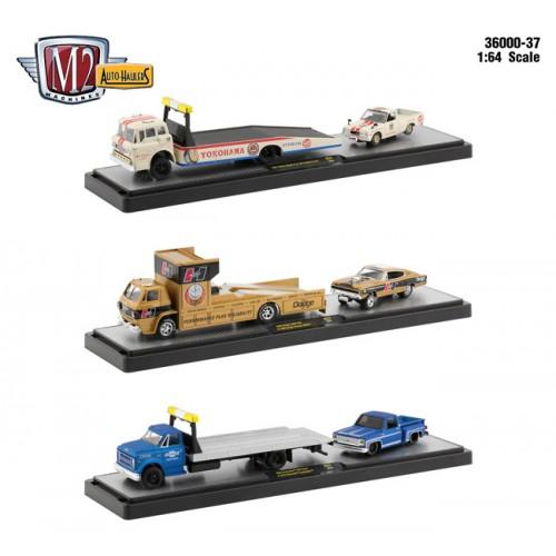 M2 Machines Auto-Haulers Release 37 - Three Truck Set