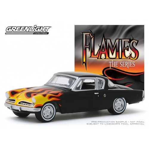 Greenlight Hobby Exclusive - The Flames Series 1954 Studebaker Champion