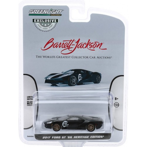 Greenlight Hobby Exclusive - 2017 Ford GT 66 Heritage Edition 2