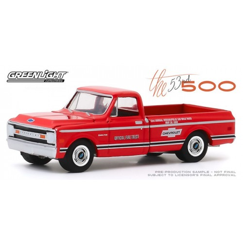 Greenlight Hobby Exclusive - 1969 Chevrolet C-10 Fire Truck