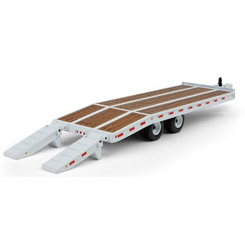 Beavertail Trailer in White