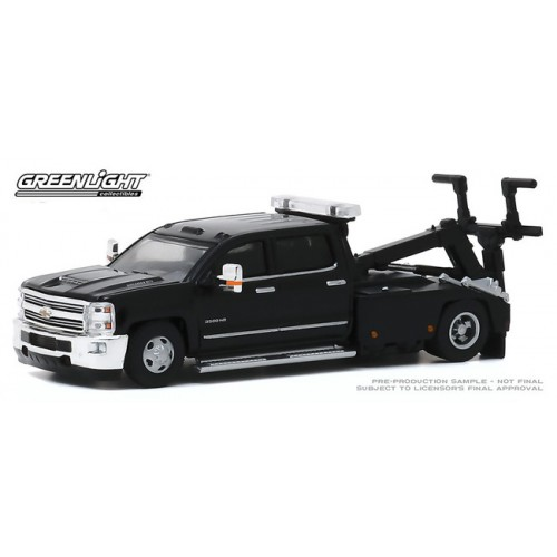 Greenlight Dually Drivers Series 4 - 2018 Chevrolet Silverado 3500 Dually Wrecker