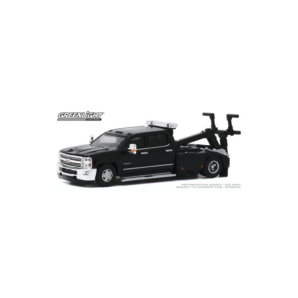 Greenlight Dually Drivers Series 4 - 2018 Chevrolet Silverado 3500 Dually Wrecker