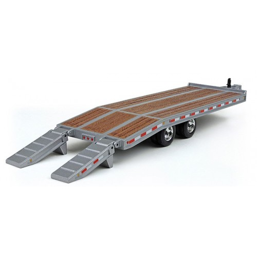 Beavertail Trailer in Silver