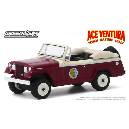 Greenlight Hollywood Series 28 - 1967 Jeep Jeepster Convertible
