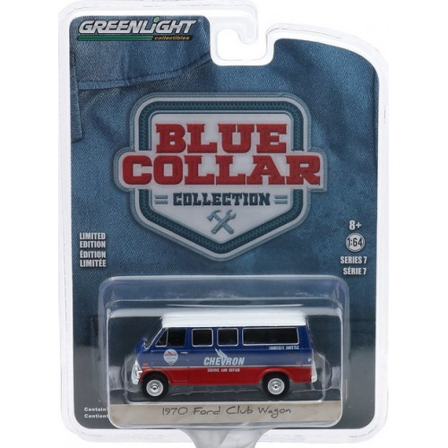 Greenlight Blue Collar Series 7 - 1970 Ford Club Wagon