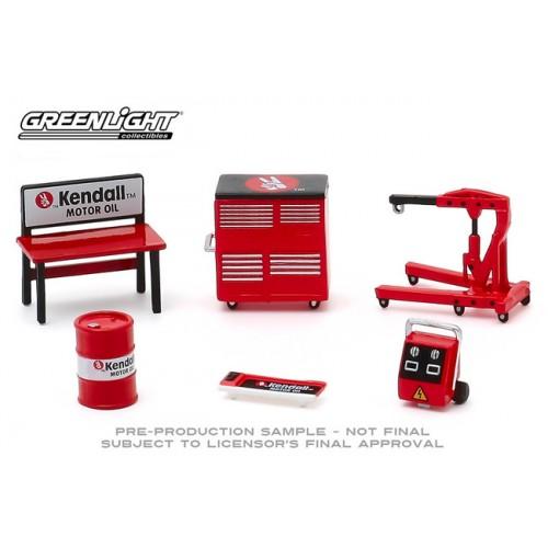 Greenlight Shop Tools Series 3 - Kendall Motor Oil Tool Pack
