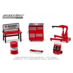 Greenlight Shop Tools Series 3 - Kendall Motor Oil Tool Pack