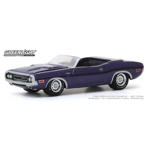Greenlight Barrett-Jackson Series 5 - 1970 Dodge Challenger R/T Convertible