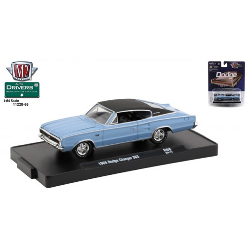 M2 Machines Drivers Release 66 - 1966 Dodge Charger 383