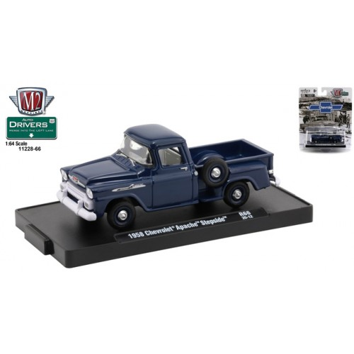 M2 Machines Drivers Release 66 - 1958 Chevrolet Apache Step Side Truck