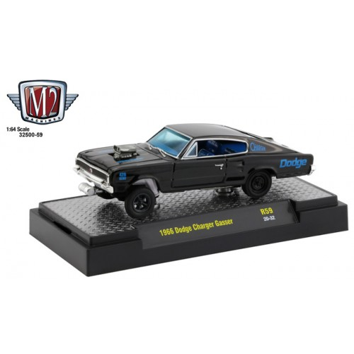 M2 Machines Auto-Thentics Release 59 - 1966 Dodge Charger Gasser