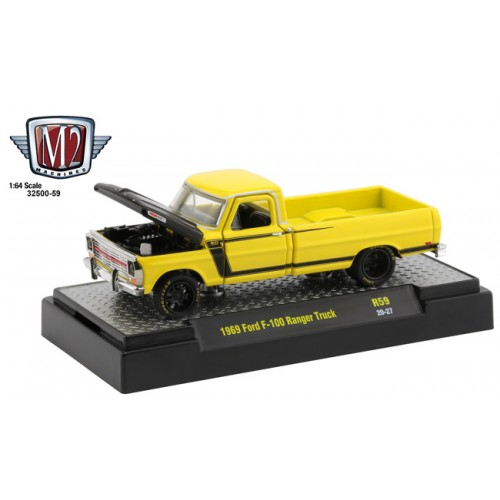 M2 Machines Auto-Thentics Release 59 - 1969 Ford Ranger Truck