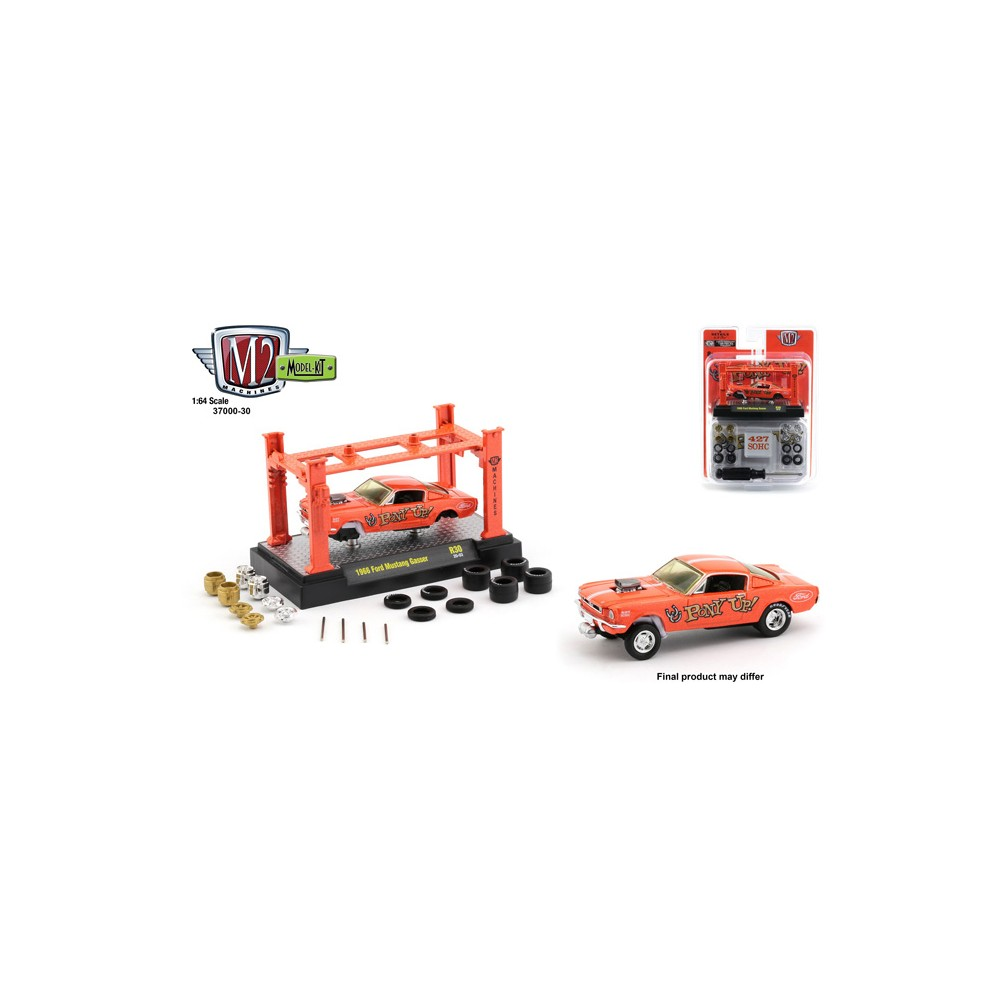 M2 Machines Model-Kits Release 30 - 1966 Ford Mustang Gasser