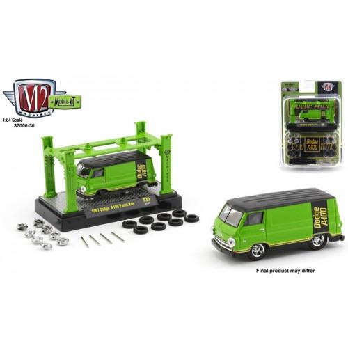 M2 Machines Model-Kits Release 30 - 1967 Dodge A100 Panel Van
