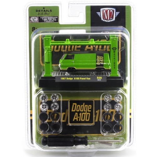 M2 Machines Model-Kits Release 30 - 1967 Dodge A100 Panel Van