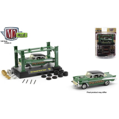 M2 Machines Model-Kits Release 31 - 1957 Chevrolet Bel Air Gasser