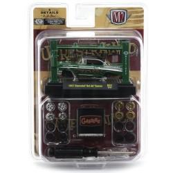 M2 Machines Model-Kits Release 31 - 1957 Chevrolet Bel Air Gasser