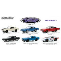 Greenlight Detroit Speed Series 1 - Six Car Set