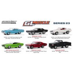 Greenlight Muscle Series 23 - Six Car Set