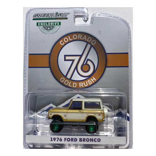 Greenlight Hobby Exclusive - 1976 Ford Bronco GREEN MACHINE