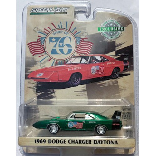 Greenlight Hobby Exclusive - 1969 Dodge Charger Daytona GREEN MACHINE