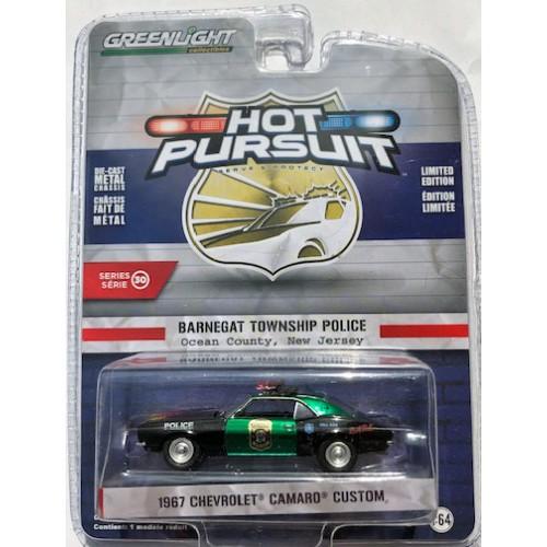 Greenlight Hot Pursuit Series 30 - 1967 Chevy Camaro Custom GREEN MACHINE