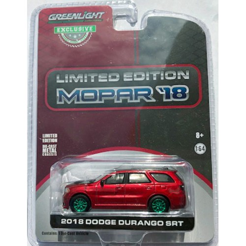 Greenlight Hobby Exclusive - 2018 Dodge Durango SRT GREEN MACHINE
