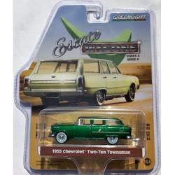 Greenlight Estate Wagons Series 4 - 1955 Chevrolet Two-Ten Townsman GREEN MACHINE
